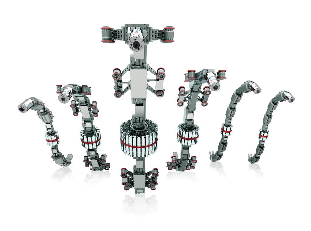 Explorer ILI MFL inspection robots fleet