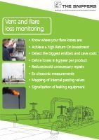 Vent and flare loss monitoring