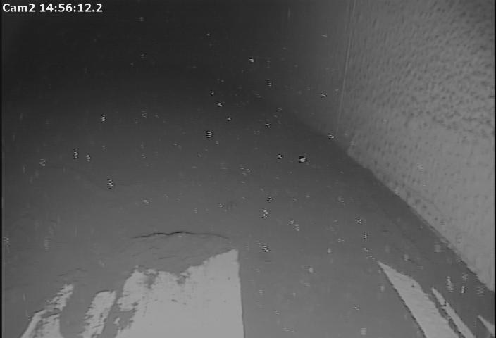 Video footage of a tank bottom_wall inspection