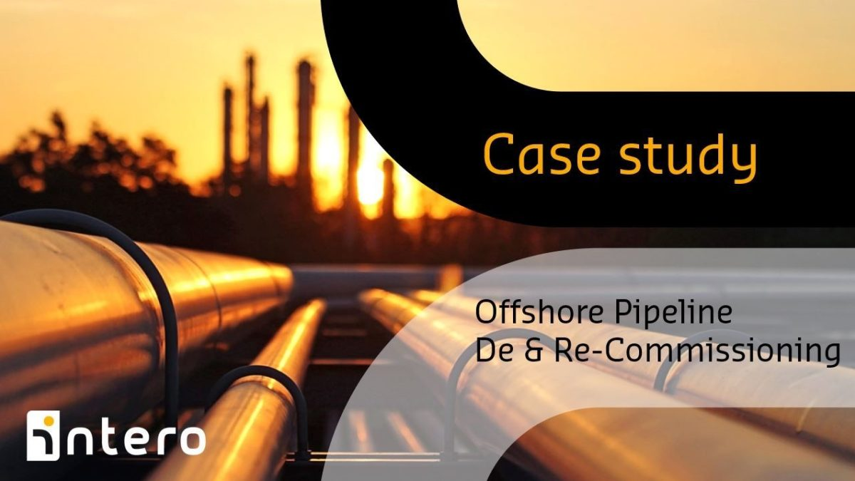 Offshore pipeline de- & recommissioning