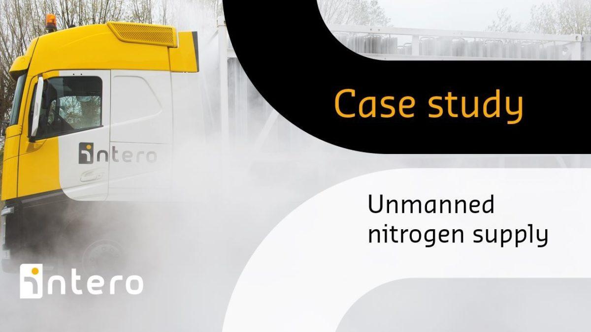 Unmanned nitrogen supply