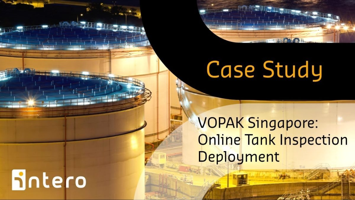 Vopak Singapore: Online Tank Inspection Deployment