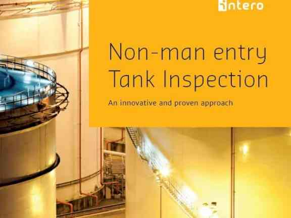 Non-man entry Tank Inspection