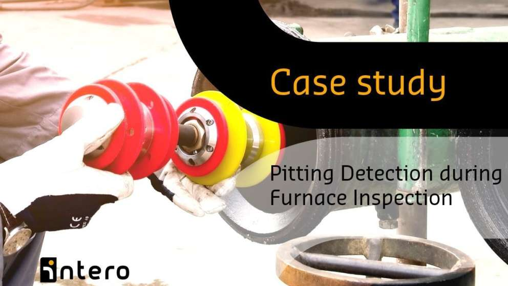 Pitting detection during furnace inspection